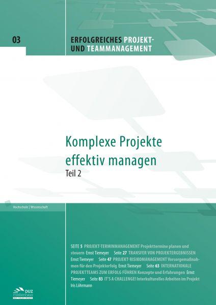 Erfolgreiches Projekt- und Teammanagement - Heft 3