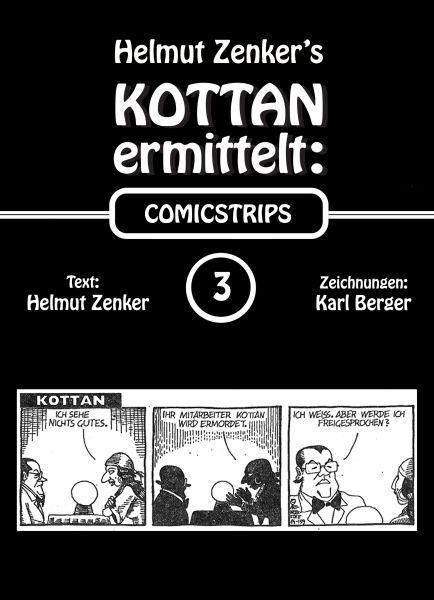 Kottan ermittelt: Comicstrips 3