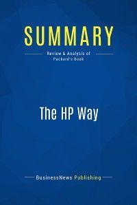 Summary: The HP Way