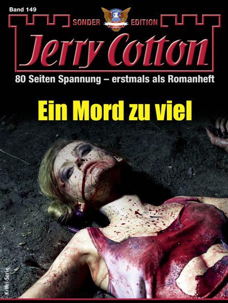 Jerry Cotton Sonder-Edition 149 - Krimi-Serie