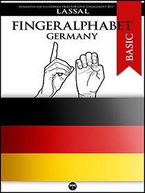 Fingeralphabet Germany