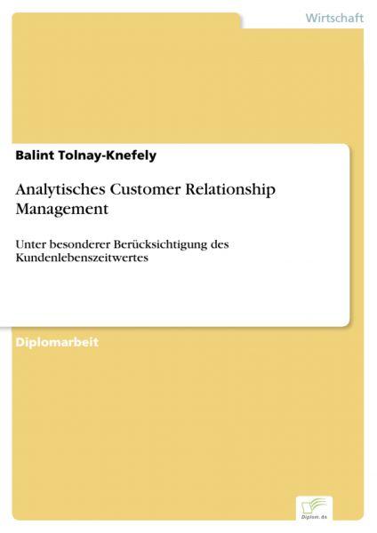 Analytisches Customer Relationship Management