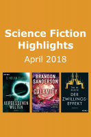 Die besten Science-Fiction-Bücher im April: Paket