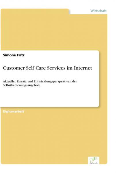 Customer Self Care Services im Internet