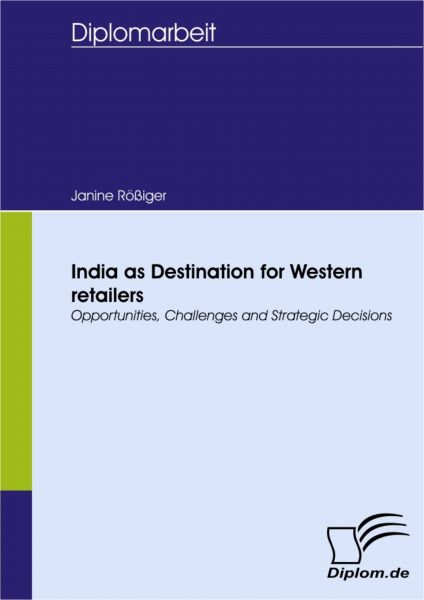 India as Destination for Western retailers