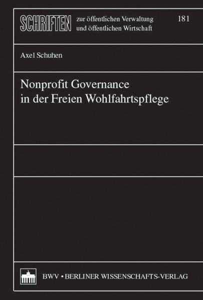 Nonprofit Governance in der Freien Wohlfahrtspflege