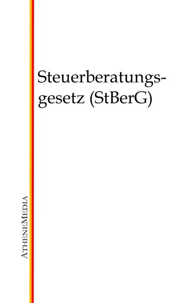 Steuerberatungsgesetz (StBerG)