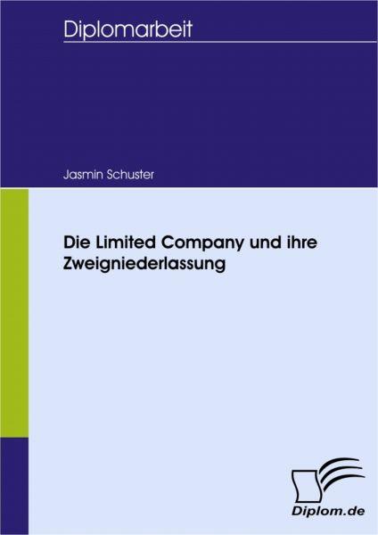 Die Limited Company und ihre Zweigniederlassung