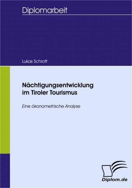 Nächtigungsentwicklung im Tiroler Tourismus