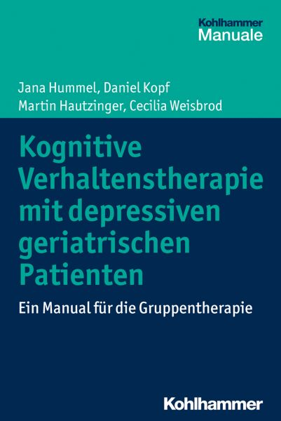 Kognitive Verhaltenstherapie mit depressiven geriatrischen Patienten