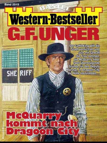 G. F. Unger Western-Bestseller 2515 - Western