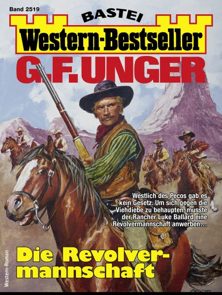 G. F. Unger Western-Bestseller 2519 - Western