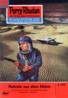 Perry Rhodan 245: Notrufe aus dem Nichts (Heftroman)