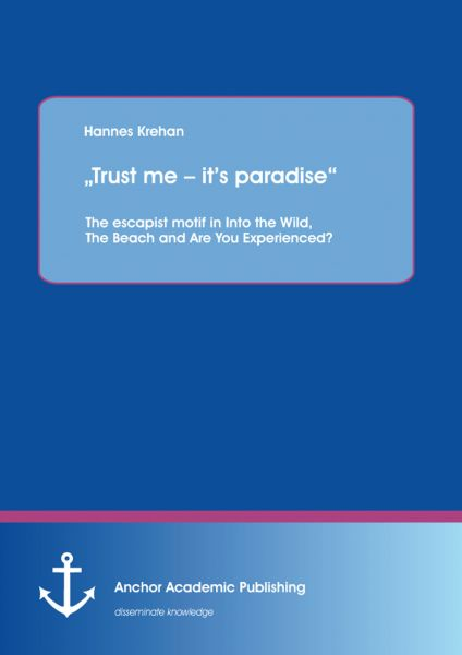 """""""Trust me – it's paradise"""" The escapist motif in Into the Wild, The Beach and Are You Experienced?"""