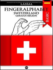 Fingeralphabet Switzerland / German Region