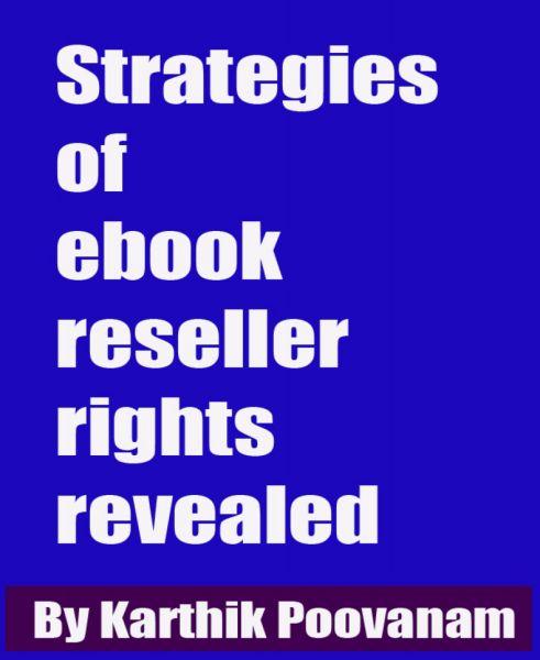 Strategies of ebook reseller rights revealed