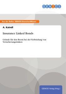 Insurance Linked Bonds