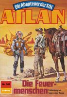 Atlan 563: Die Feuermenschen (Heftroman)