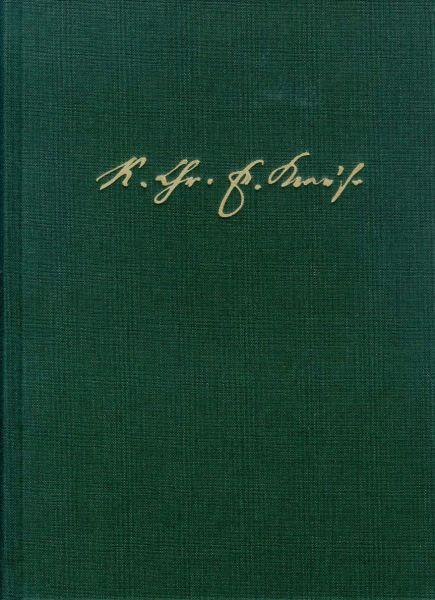 Karl Christian Friedrich Krause: Ausgewählte Schriften / Band III: Vermischte Schriften