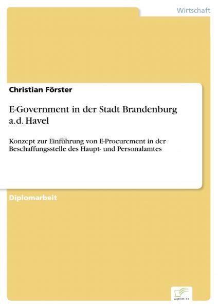 E-Government in der Stadt Brandenburg a.d. Havel